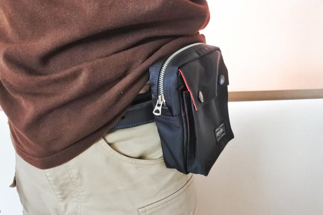 【PORTERエルファインのミニショルダーバッグ】スマホ・財布を入れるのに最適おすすめ!