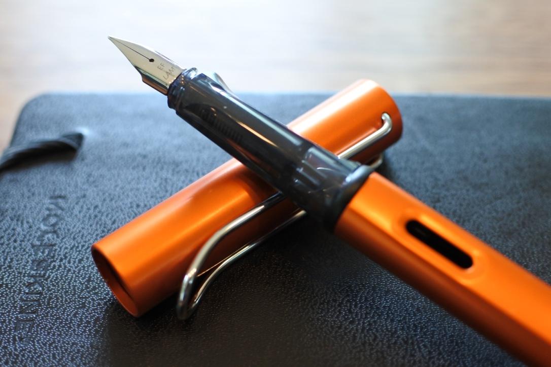 2015年限定色「コッパーオレンジ」入手!ラミー アルスターの万年筆はやっぱり良い!!