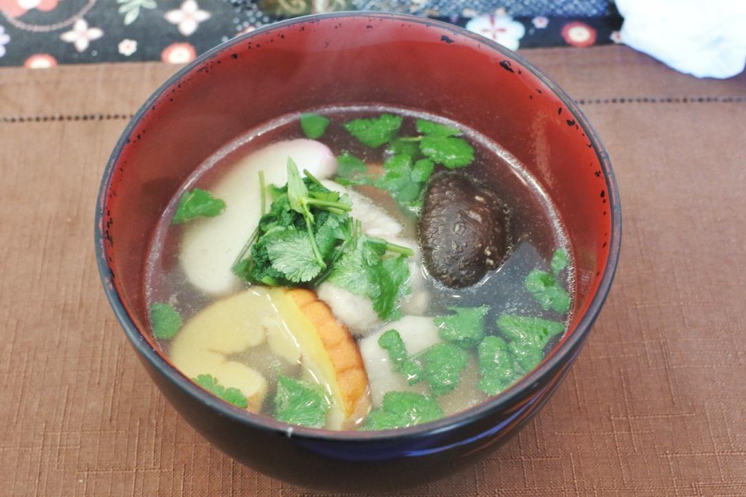 お正月恒例「パクチー雑煮」を作ったよ!超簡単レシピをご紹介。