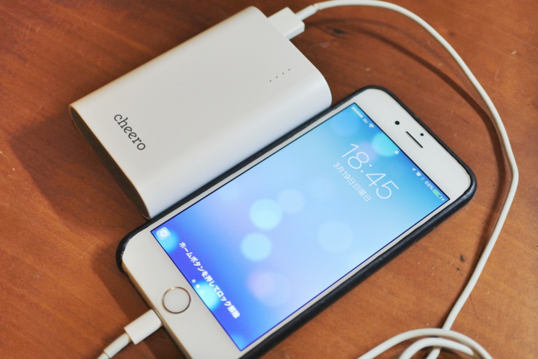 【レビュー】モテる!モバイルバッテリー「cheero Power Plus 3 10050mAh」は紳士の必携品。