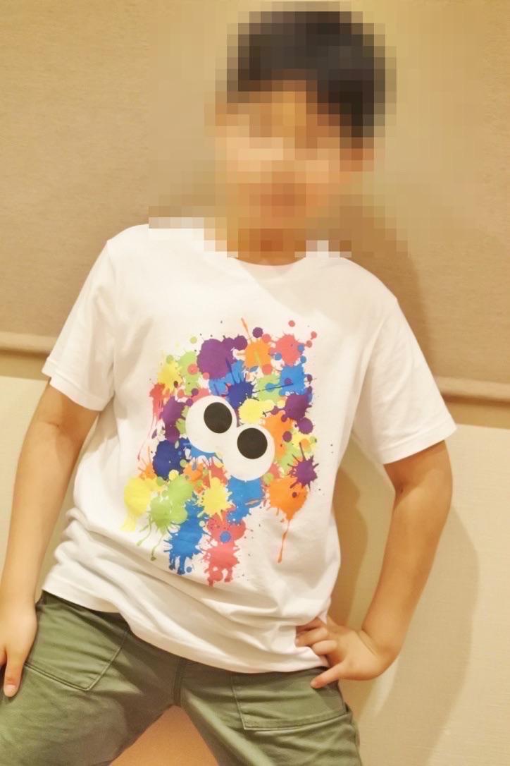 【任天堂コラボTシャツ/ユニクロ】スプラトゥーンコラボTシャツレビュー