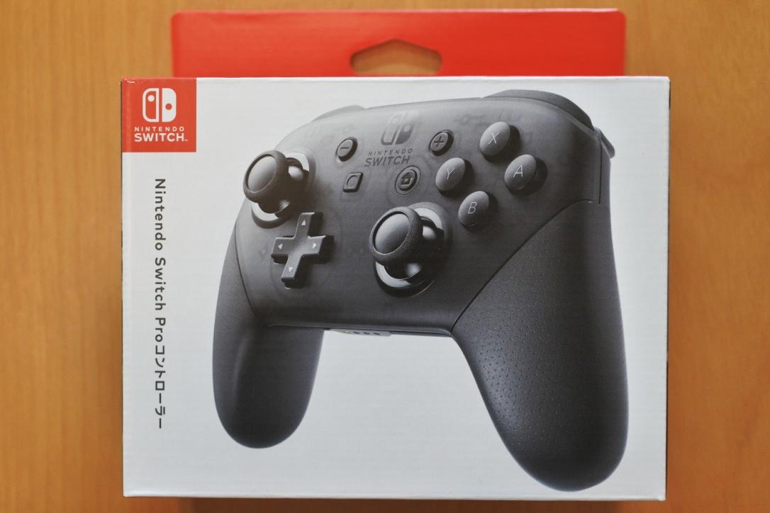 【レビュー】『Nintendo Switch Proコントローラー』見つけたら即買いオススメです!