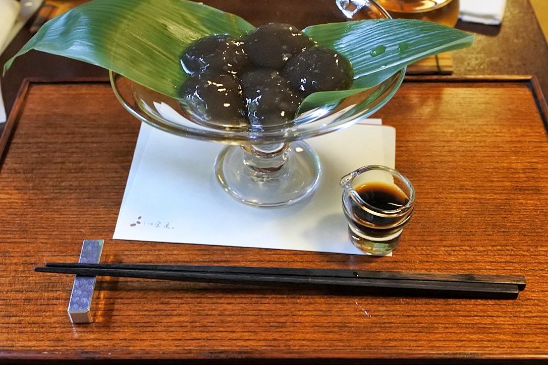 京都でわらび餅を食べるなら『茶寮 宝泉』で間違いなし!お店の雰囲気も最高です!!