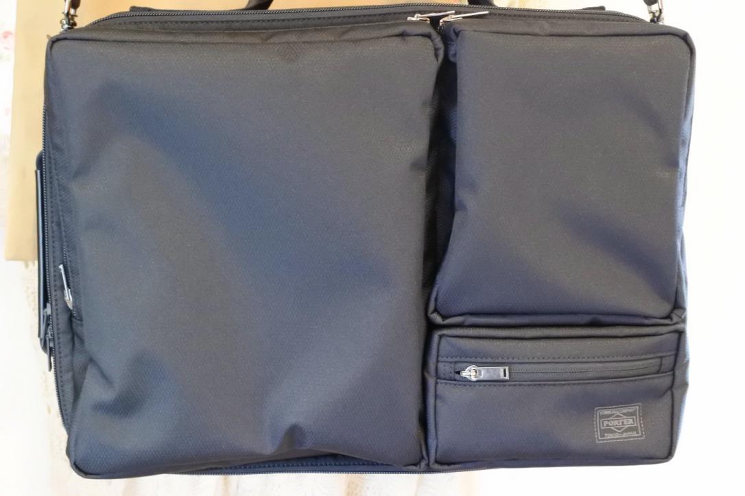 【PORTER CLOVE(3WAY)レビュー】電車通勤歴20年の私が出会った最高のビジネスバッグ!