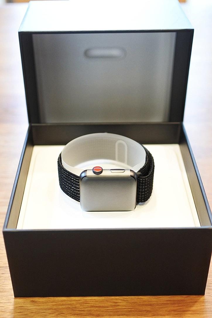 【Apple Watch3 セルラーモデルレビュー』開封の儀を執り行います!