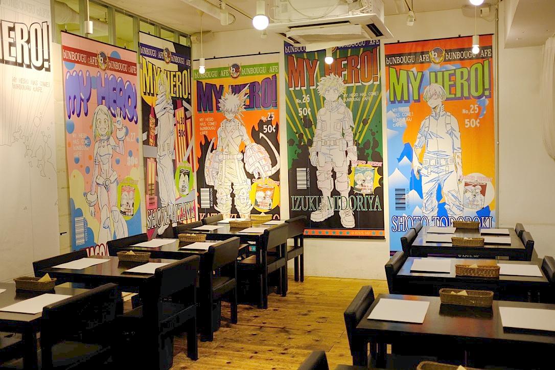「文房具カフェ×僕のヒーローアカデミア」のコラボカフェに行ってきた!