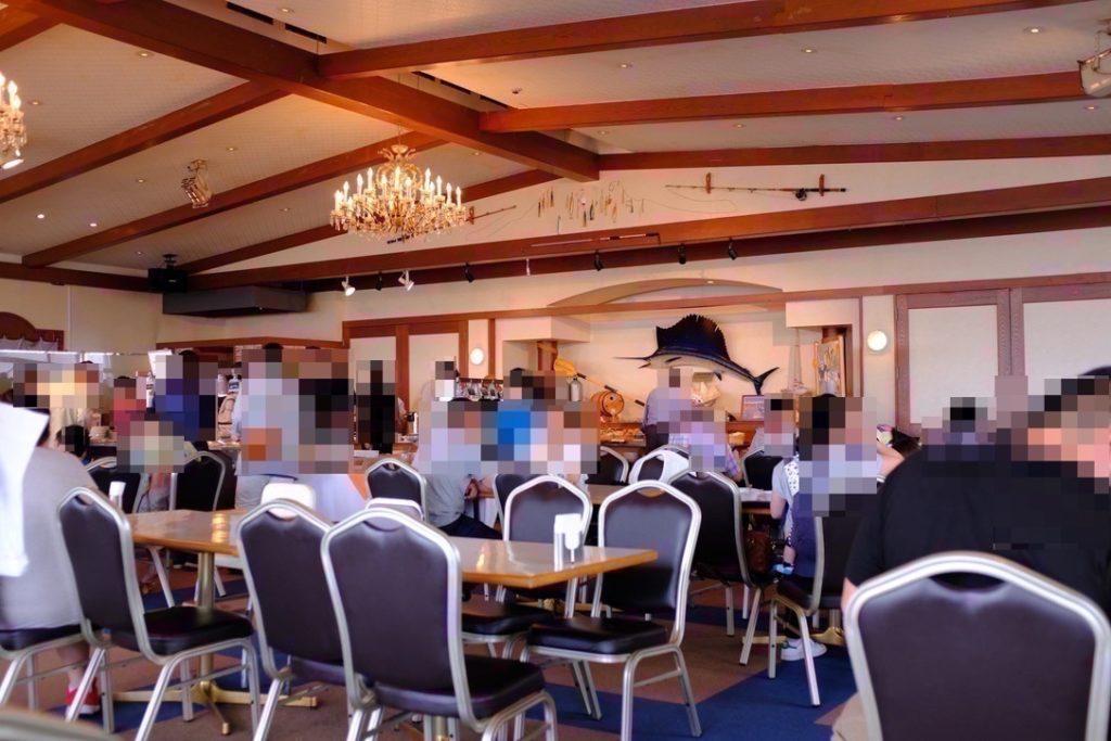 鴨川シーワールドのバイキングレストランサンクルーズ