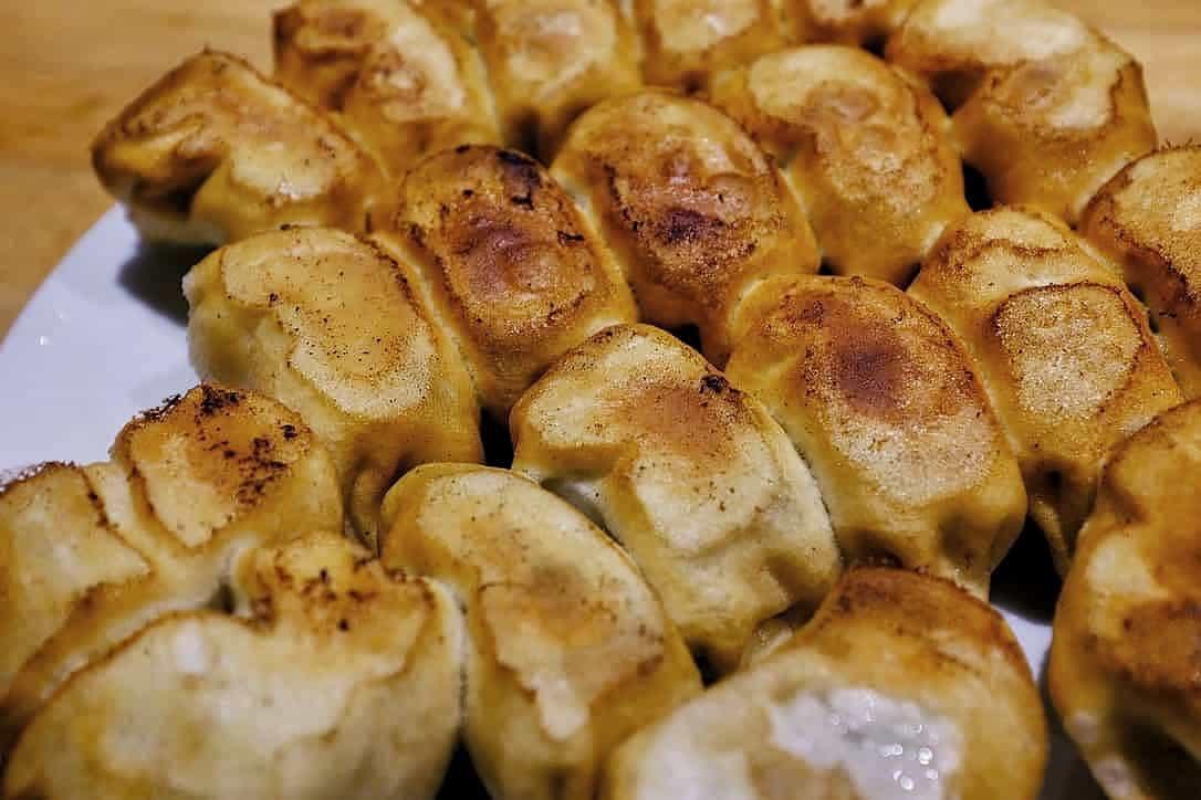 ホワイト餃子焼餃子