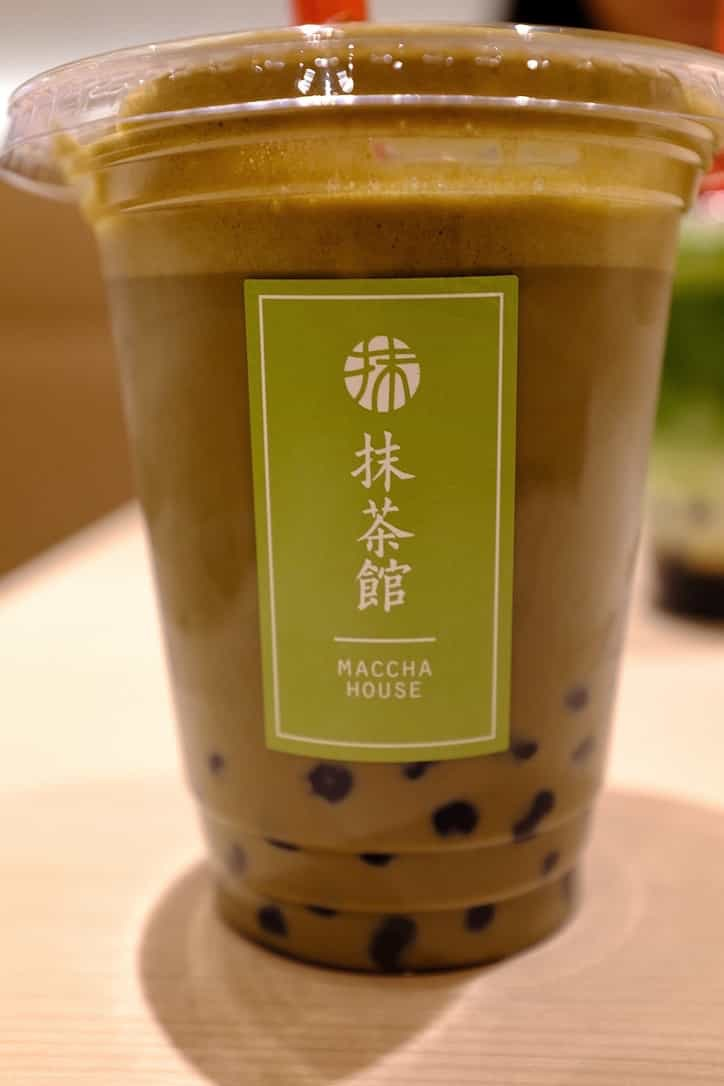 MACCHAHOUSE抹茶館黒糖タピオカラテほうじ茶