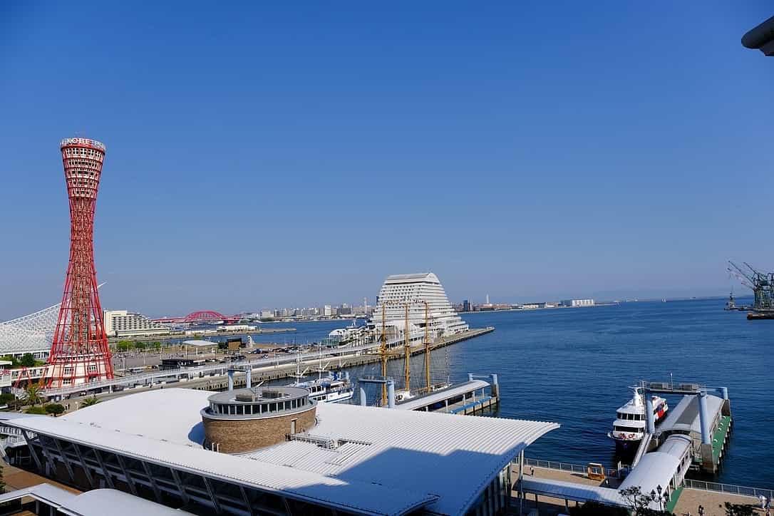ラスイート神戸からの景色