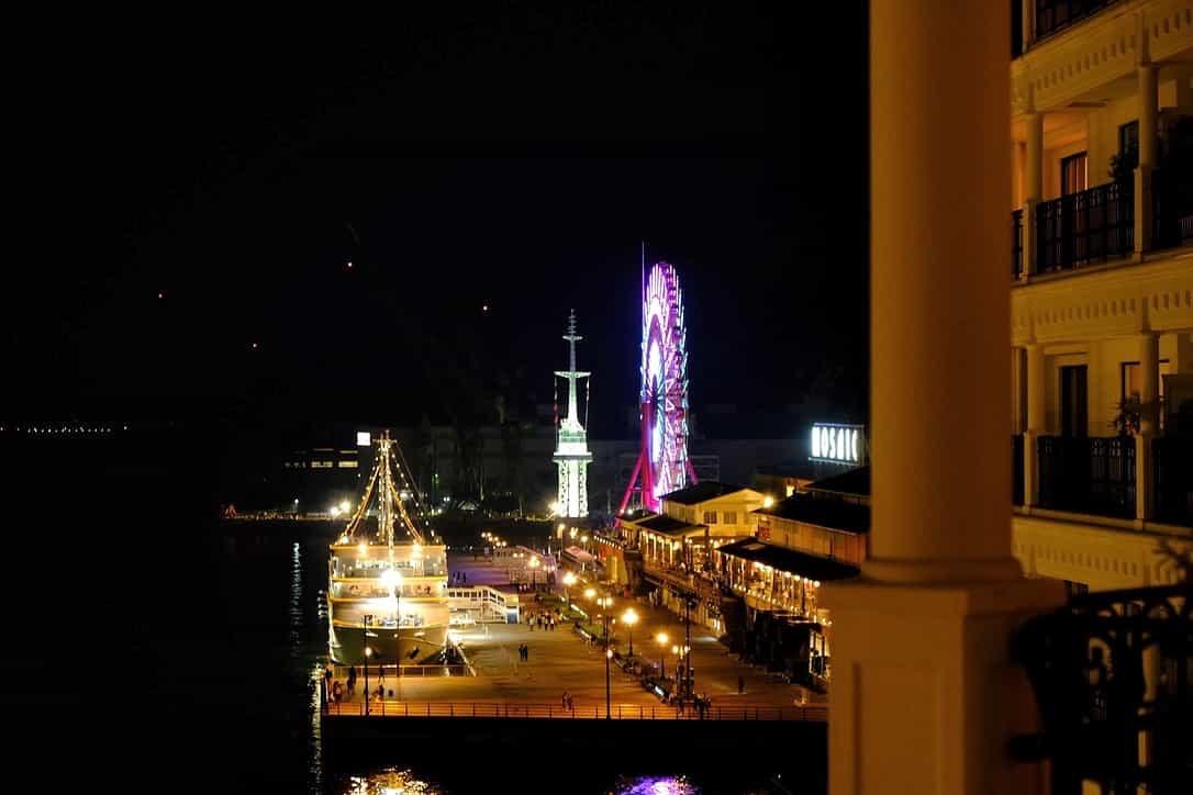 ラスイート神戸からの夜景