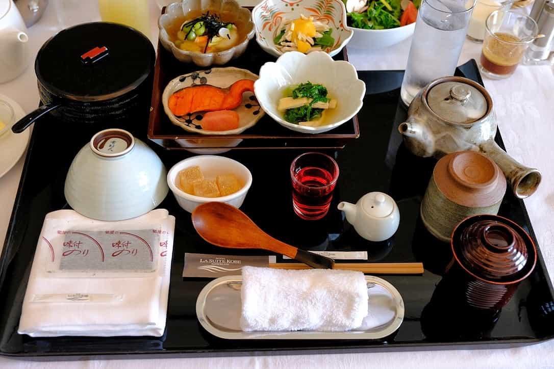 ラスイート神戸の朝食