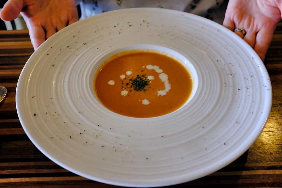 イタリアンダイニングMAOのスープ