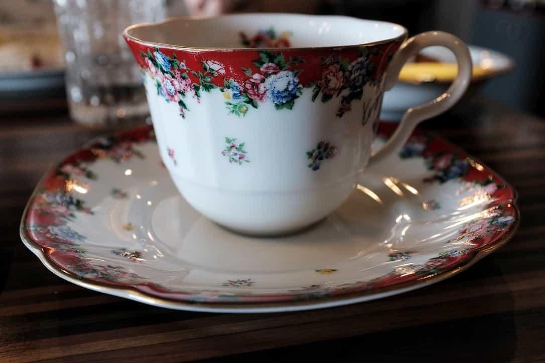 イタリアンダイニングMAOのコーヒーカップ