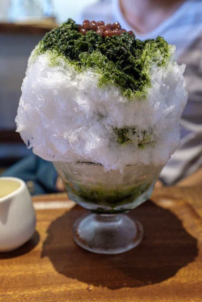 吉岡茶房のかき氷