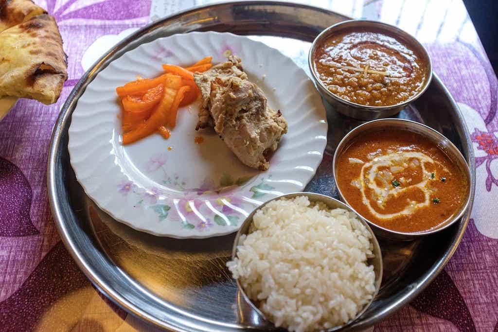 インド・ネパールレストラン自然