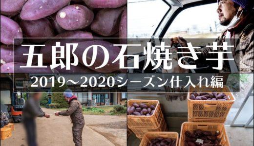 【焼き芋屋さんの仕入れ風景】五郎の石焼き芋2019-2020シーズン始動間近!